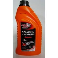 Automobilinis šampūnas su vašku apelsinų kvapo 1000ml.